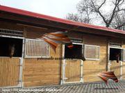 Aussenboxen Pferdestall Pferdeboxen Weidehütte Unterstand