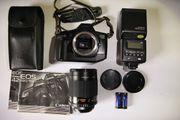 analoge Spiegelreflex - Kamera