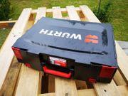 Leerer Koffer für Würth Akku-Bohrmaschine