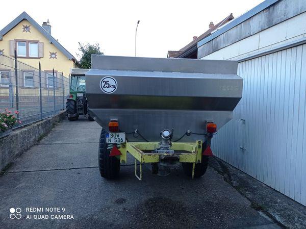 Maischewagen TE 50 S Rauch