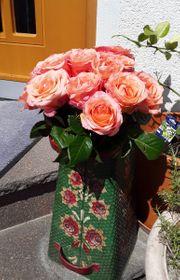 Vase Kohlenkübel Schirmständer Pelletschütte handbemalt