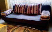 Schlafcouch mit Bettkasten
