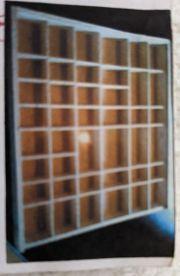 7 Holzsetzkasten mit Schiebetür in