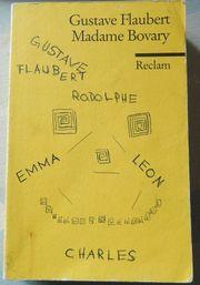 Madame Bovary Gustave Flaubert Reclamheft