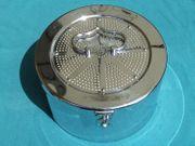 antiker Sterilgutbehälter Sterilcontainer Steribox rund