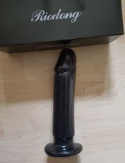 XXL - DILDO NEU - black supersoft