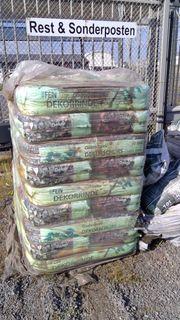 Restposten Pinienrinde - Dekormulch - Lagerware Abverkauf