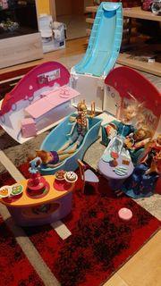 Barbie Schiff mit Zubehör Ideal