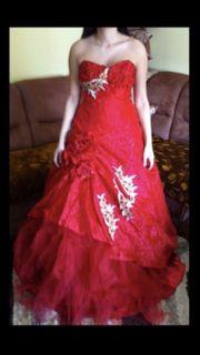 wunderschönes elegantes Abendkleid