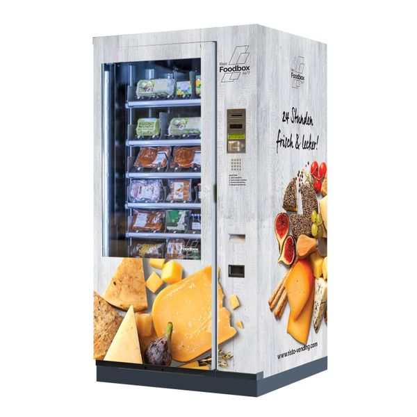Verkaufsautomat für Regionales - Neu