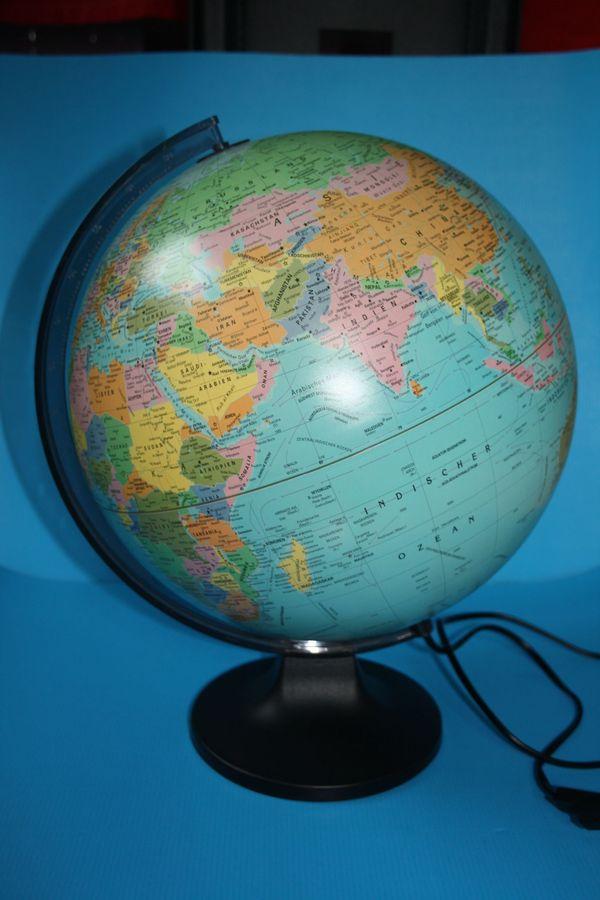 Globus beleuchtet ca 30 cm