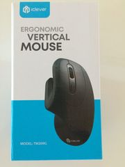 ergonomic vertical mouse iclever Neu