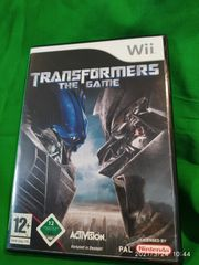 Wii Spiel Transformers The Game