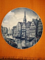 Fürstenberg Sammelteller Hamburg Nr 4