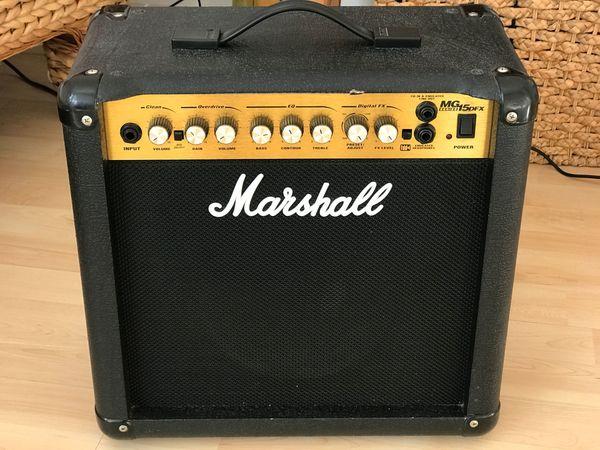 Marshall Übungsverstärker MKG15DFX 15W RMS