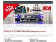 Techniker im Service für mobile