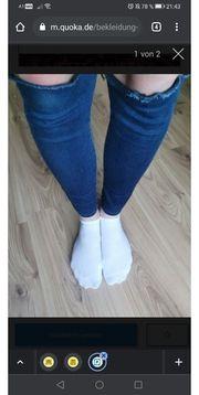 getragene Socken schuhe