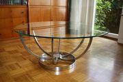 0er Jahre Glas Tisch - Courchtisch