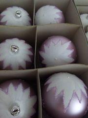 Komplettangebot 12 wunderschöne hochwertige Weihnachtskugeln