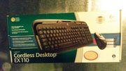 Logitech Maus und Tastatur