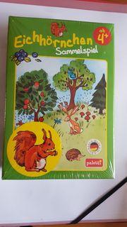 Kinderspiel Eichhörnchen Sammelspiel