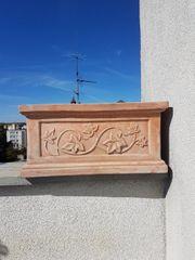 Terracotta Topf 37x65x31cm zu verschenken