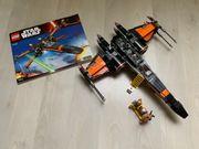 Zwei LEGO Star Wars Fighter
