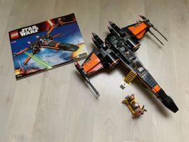 Zwei LEGO Star Wars Fighter: Nr. 75102 und Nr. 75125