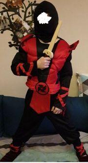Ninja kostüm Wie neu