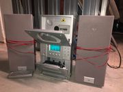Radio CD-Player Kassettenspieler Lautsprecher Boxen