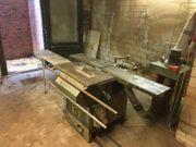 Holzbearbeitungsmaschine Tischkreissäge Abricht-Dickenhobel ROBLAND K260