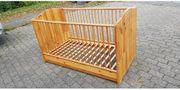 Gitterbett aus Massivholz