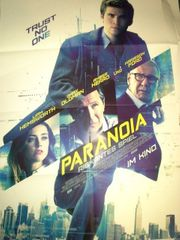 2013 Harrison Ford Paranoia Orginal