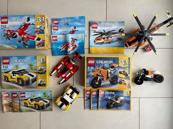 4 x LEGO CREATOR-SETS 31046