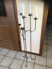 Kerzenständer Metall 115 cm