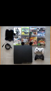 PS3 500GB mit 2 Controller