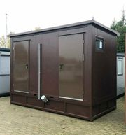 WC Container Duschcontainer mit Tank