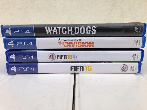 PS4 Spiele 4 Stück