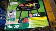 Fahrbarer Grill für Garten und