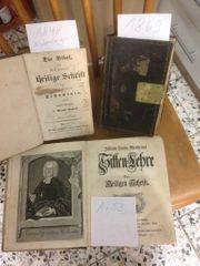 3 alte Bibeln 1753 1848