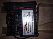 Motorradbatterie und Ladegerät