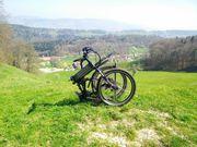 E-Bike 500W aufklappbar vollgefedert
