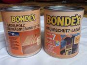 Bondex Dauerschutz-Lasur Holzschutz Farbe Eiche
