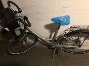 City Rad mit tiefen Einstieg