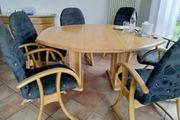 Esstisch 6 Stühle und Sideboard
