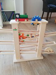 Nic - Multibahn Kugelbahn Holzspielzeug mit