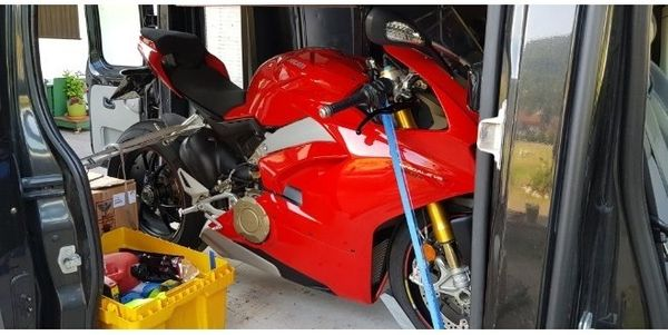 Motorrad Roller Ape Quad TRANSPORT