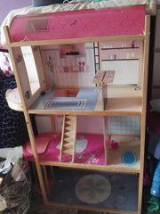 Barbie holz Haus