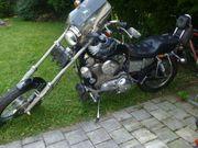 Harley Chopper Oldtimer