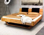 Bett aus massivem Holz NEU